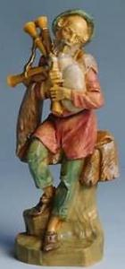 Fontanini 170 516 - Dudelsackspieler zu 17cm tipo legno