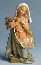 Fontanini 170 500 - Maria  kniend zu 17cm tipo legno