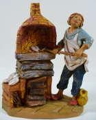 Fontanini 095 871 - Bäcker zu 9,5cm tipo legno