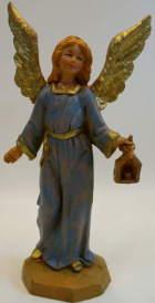 Fontanini 095 097 - Engel stehend zu 9,5cm tipo legno
