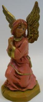Fontanini 095 098 - Engel kniend zu 9,5cm tipo legno