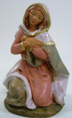 Fontanini 095 901 - Maria kniend zu 9,5cm tipo legno