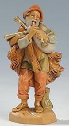 Fontanini 065 11 - Dudelsackspieler alt zu 6,5cm tipo legno