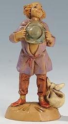 Fontanini 065 18 - Hirt mit Hut zu 6,5cm tipo legno