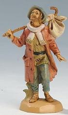 Fontanini 065 20 - Mann mit Bündel zu 6,5cm tipo legno