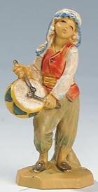 Fontanini 065 537 - Trommler zu 6,5cm tipo legno
