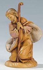 Fontanini 065 02 - Josef kniend zu 6,5cm tipo legno