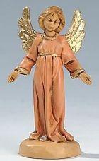 Fontanini 065 30 - Engel stehend zu 6,5cm tipo legno