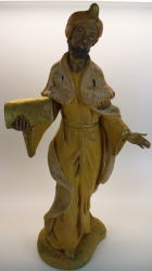 König braun zu 25cm Figuren - Kunststoff