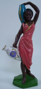 Fontanini 100 116 - Frau mit Amphoren zu 10cm coloriert