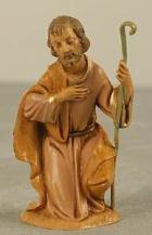 Fontanini 100 001 - Josef kniend zu 10cm tipo legno
