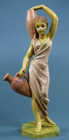 Fontanini 100 116 - Frau mit Amphoren zu 10cm tipo legno
