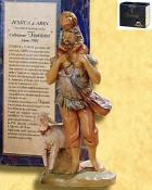 """Fontanini 120 264 (lim) - """"Jeshua & Adin"""" zu 12cm tipo legno"""