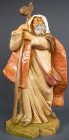 Fontanini 120 105 - Schäfer zu 12cm tipo legno