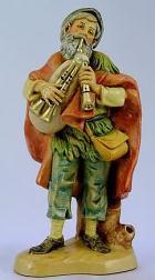 Fontanini 120 103 - Dudelsackspieler zu 12cm tipo legno