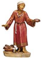 Fontanini 120 120 - Mann mit rotem Gewand zu 12cm tipo legno