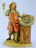 Fontanini 120 165 - Bildhauer zu 12cm tipo legno