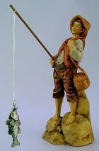 Fontanini 120 169 - Fischerjunge zu 12cm tipo legno