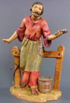 Fontanini 120 175 - Stallknecht zu 12cm tipo legno