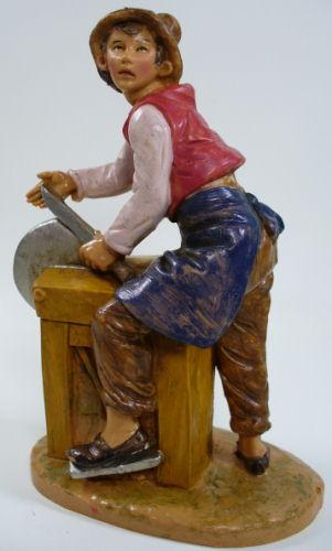 Fontanini 120 181 - Scherenschleifer zu 12cm tipo legno
