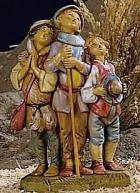 Fontanini 120 261 - Jungenchor zu 12cm tipo legno