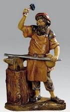 Fontanini 120 276 - Schmied zu 12cm tipo legno