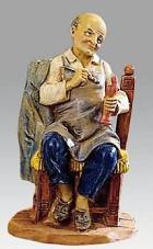 Fontanini 120 272 - Maler sitzend zu 12cm tipo legno