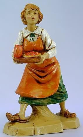 Fontanini 120 282 - Kellnerin zu 12cm tipo legno