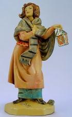 Fontanini 120 285 - Mädchen mit Laterne zu 12cm tipo legno