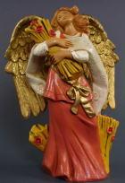 Fontanini 120 1077 - Engel mit Ähren zu 12cm tipo legno