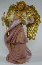 Fontanini 120 1084 - Engel mit Kerze zu 12cm tipo legno