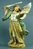 Fontanini 120 1088 - Erzengel Michael zu 12cm tipo legno