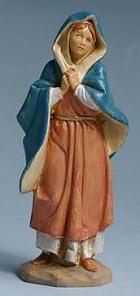 Fontanini 120 581 - Maria zu 12cm tipo legno
