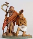 Fontanini 120 594 - Taufe Christi zu 12cm tipo legno