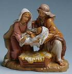 Fontanini 120 593 - Christi Geburt zu 12cm tipo legno