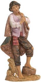 Fontanini 300 09 - Junge mit Flöte zu 30cm tipo legno