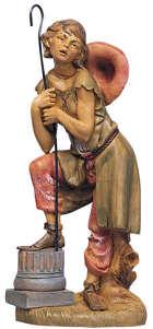 Fontanini 300 11 - Junge mit Stab zu 30cm tipo legno