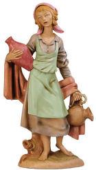 Fontanini 300 12V - Mädchen mit Krug zu 30cm tipo legno