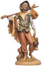 Fontanini 300 18 - Mann mit Bündel zu 30cm tipo legno