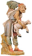 Fontanini 300 29 - Hirt mit Schaf zu 30cm tipo legno