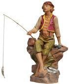 Fontanini 300 56 - Fischerjunge zu 30cm tipo legno