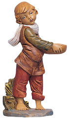 Fontanini 300 36 - Junge mit Korb zu 30cm tipo legno