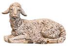 Fontanini 300 16 - Schaf liegend zu 30cm tipo legno