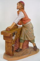 Fontanini 190 376 - Schreiner zu 19cm tipo legno