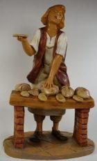 Fontanini 190 366 - Brotverkäufer zu 19cm tipo legno