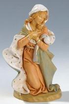 Fontanini 190 301 - Maria kniend zu 19cm tipo legno
