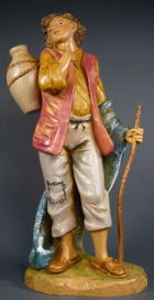 Fontanini 190 331 - Junge mit Krug zu 19cm tipo legno