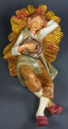 Fontanini 190 330 - Junge schlafend zu 19cm tipo legno
