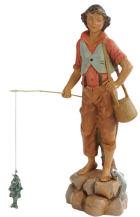 Fontanini 190 318 - Fischerjunge zu 19cm tipo legno