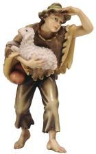 801054 Ko - Junge mit Schaf im Arm